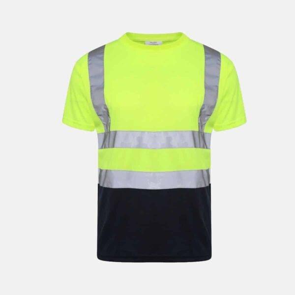 Hi Vis Two Tone T-Shirt Short Sleeve