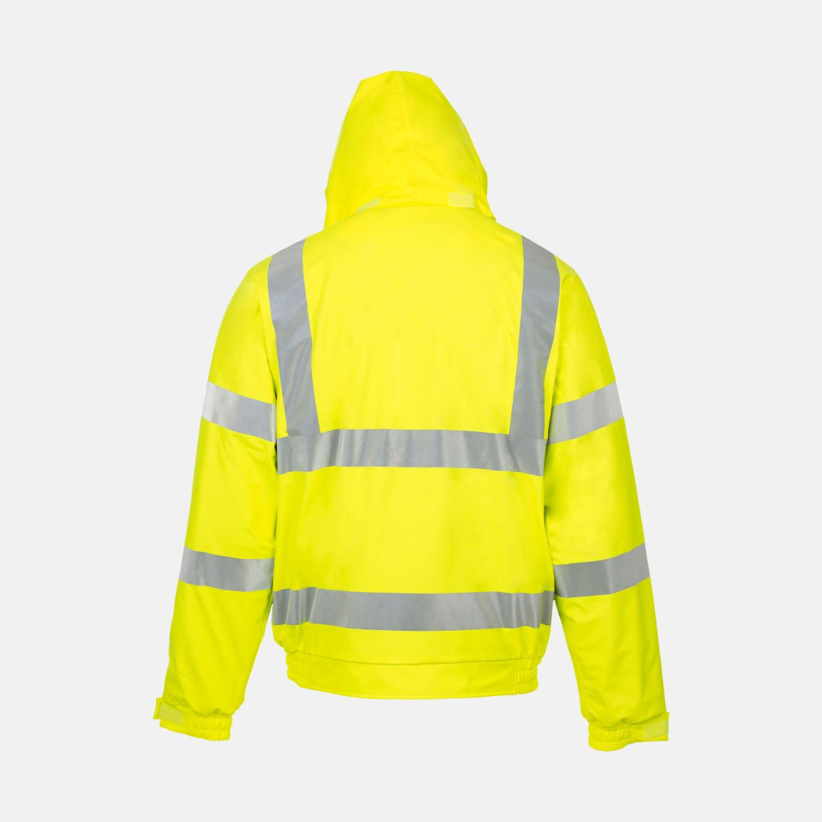 High Visibility Bomber Jacket In Yellow