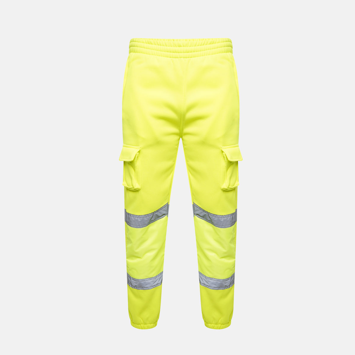 Hi Vis Jogging Bottoms Yellow by Supertouch