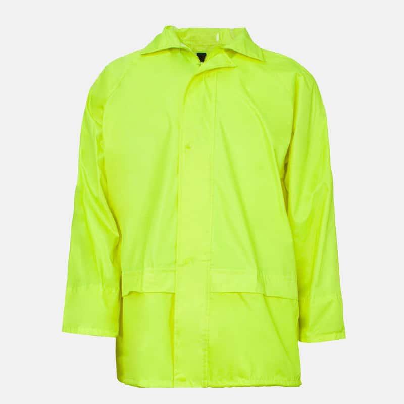 Supertouch Polyester/PVC Yellow Rainsuit