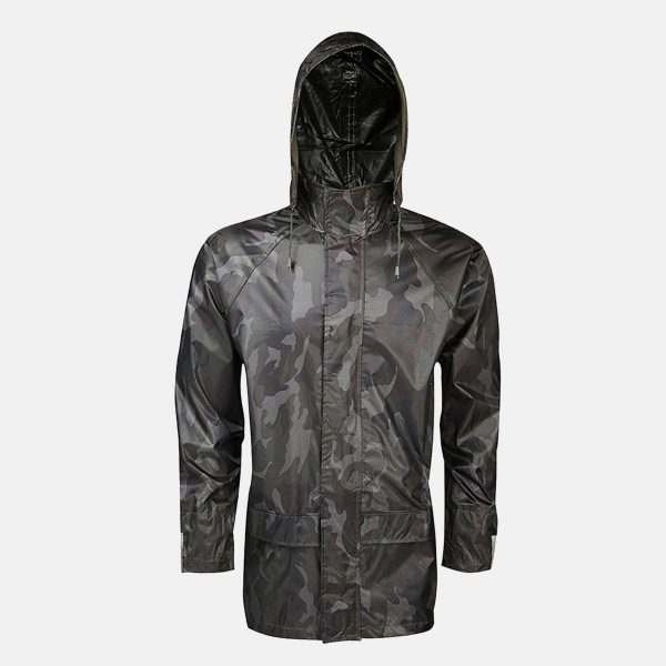 Adults Camouflage Waterproof Jacket by Baum Country