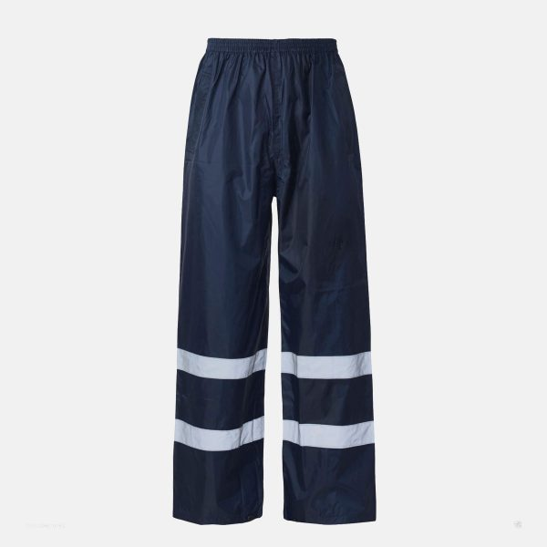 Hi Vis Over Trouser Navy Blue by Supertouch