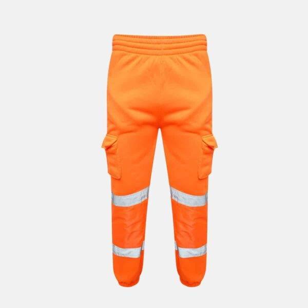 Hi Vis Jogging Bottoms Orange by Supertouch