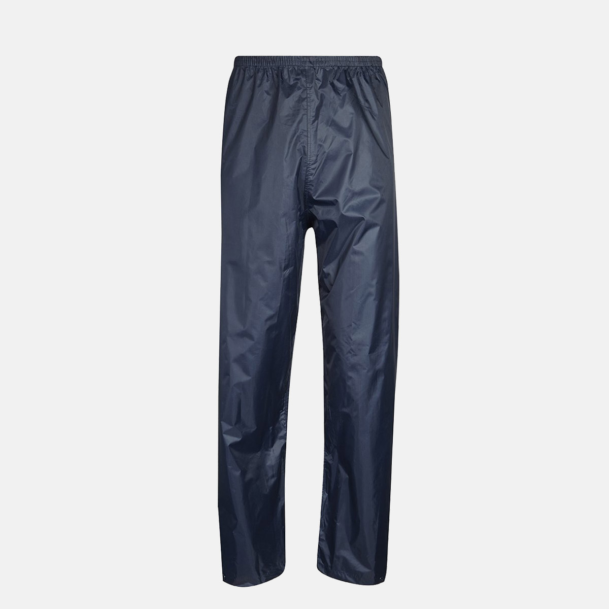 Adults Navy Blue Waterproof Over Trousers by Baum Country