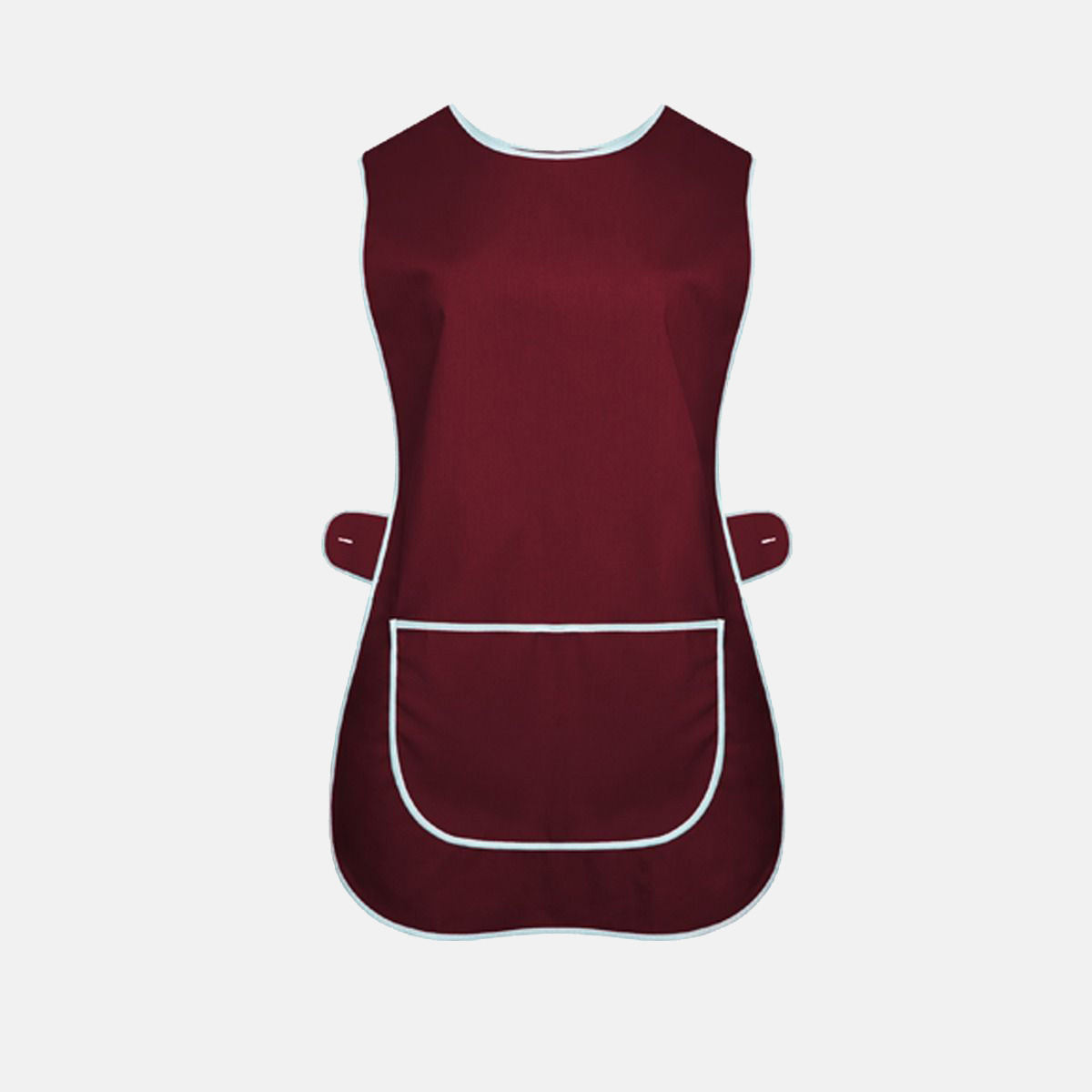 Ladies Overall Front Pocket Kitchen Cooking Cleaning Tabards