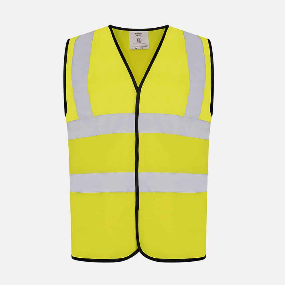 Hi Vis Safety Vest By Kapton