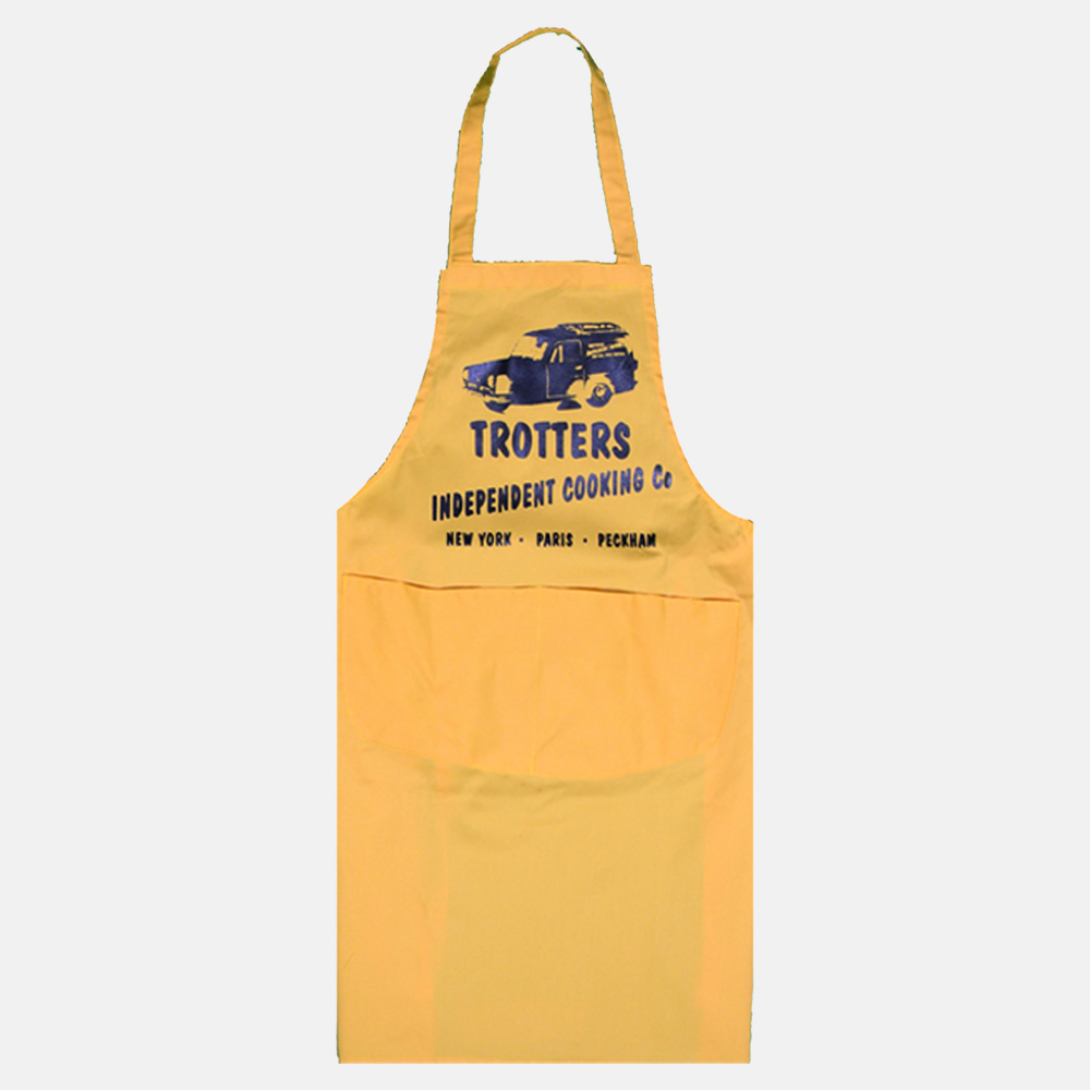 Trotters Apron For Men & Women In Yellow Colour